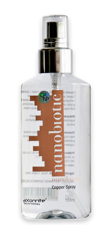 Nanobiotic Copper Spray (do torebki)