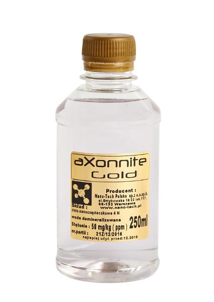 Złota Woda nano-TECH - aXonnite Gold